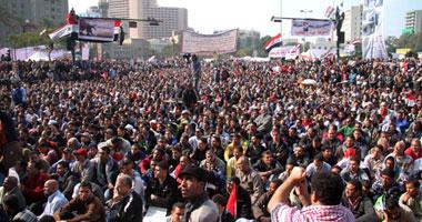 تراجع أعداد المعتصمين التحرير مليونية