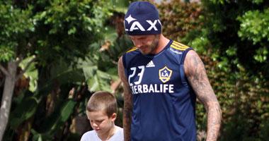 بيكهام يقتحم عالم التدريب عبر أطفاله