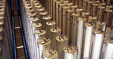 إيران تبدأ ضخ غاز اليورانيوم فى أجهزة الطرد المركزى بفوردو