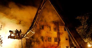 حريق فى شقة