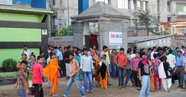 إصابة عشرات فى احتجاج لعمال الملابس فى بنجلاديش