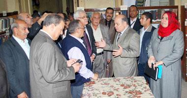 عرب يأمر بصرف 2 مليون لاستكمال تطوير مسرح بلدية طنطا وتسلميه أول مايو