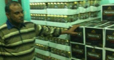 ضبط 4000 زجاجة خمر فى حملة أمنية مكبرة بالبحيرة