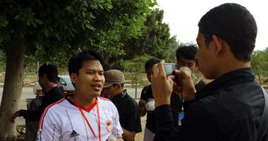 اتحاد طلاب أندونيسيا يستنكر تشويه مبنى الإدارة بجامعة الأزهر