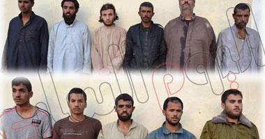 المتحدث العسكرى: ضبط 11 إرهابياً بشمال سيناء بينهم فلسطينيان