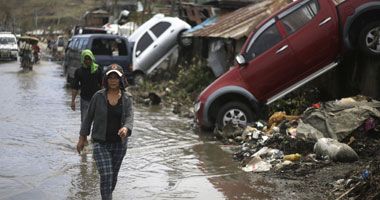 """عالمي وفاة شخصين وفقدان اليابان جراء إعصار """"فونجفونج"""" s11201313123052.jpg"""