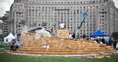 اليوم افتتاح النصب التذكارى لشهداء الثورة بميدان التحرير