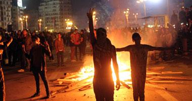 والد مصاب باشتباكات التحرير: ابنى أصيب بطلق نارى ويحتاج لبتر s112013200541.jpg