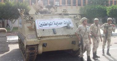 بالصور.. الهدوء يسود شوارع بورسعيد واستنفار بالجيش والشرطة