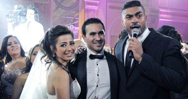 زفاف كريم جميل سعيد وسارة حسنى..  ليلة النجوم والمشاهير