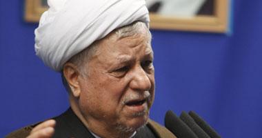 الرئيس الإيرانى الأسبق أكبر هاشمى رفسنجانى