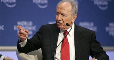 الرئيس الإسرائيلى شيمون بيريز