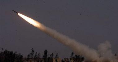 استهداف مطار الأبرق الليبى بصواريخ جراد