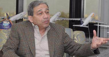 المهندس حسين مسعود رئيس الشركة القابضة لمصر للطيران