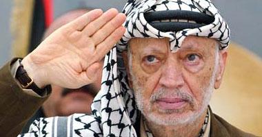 الزعيم الفلسطينى الراحل ياسر عرفات