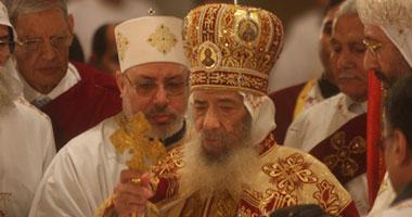 البابا يتنحى عن إقامة قداس عيد الغطاس بدير وادى النطرون الليلة