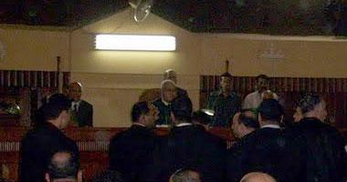 إحالة أوراق 10 من الإخوان للمفتى فى قضية قتل حارس مستشار بمحاكمة مرسى