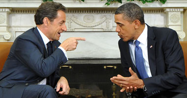 أوباما وساركوزى