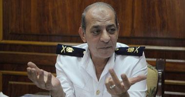 اللواء عمر الفرماوى مدير أمن أكتوبر