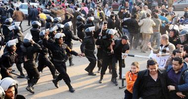 وفاة ثالث متظاهر فى السويس والإصابات ترتفع لـ 120 حالة