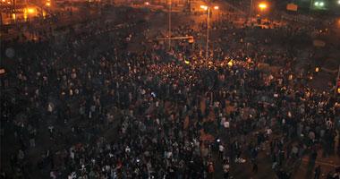 """بالفيديو.. إصابة العشرات أثناء فض الأمن بالقوة اعتصام """"يوم الغضب"""""""