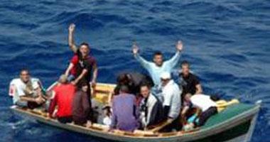 مهاجراً شرعى مركب ببحيرة ادكوا