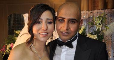 العروسان.. إنحى وأحمد