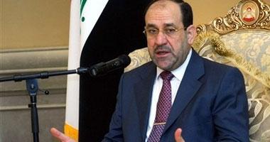 نورى المالكى رئيس الوزراء العراقى