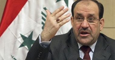 رئيس الوزراء العراقى نورى المالكى