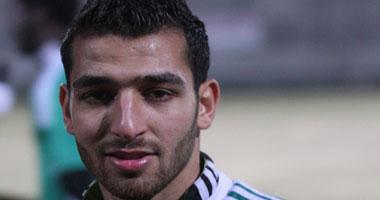 أحمد شكرى يتقدم لإنبى بالهدف الأول على المقاصة