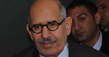 البرادعى يطالب بلجنة ثورية للتفاوض