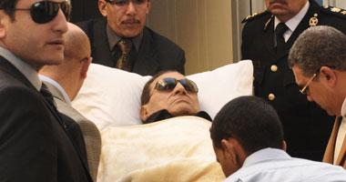 تأجيل محاكمة مبارك للغد لسماع