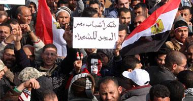 ميادين تحرير مصر اليوم كل الاخبار 25-1-2012 S120122512502