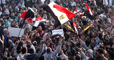 الإخوان يطالبون بإسقاط إسرائيل وإعدام مبارك وبشار وصالح