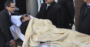 مبارك خلال إحدى الجلسات