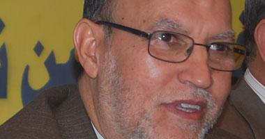 نائب رئيس حزب الحرية والعدالة رئيس لجنة العلاقات الخارجية بمجلس الشعب د.عصام العريان