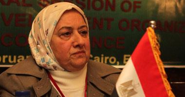 الدكتورة نجوى خليل وزيرة التأمينات والشؤون الاجتماعية