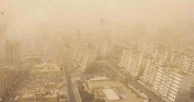 الأرصاد الكويتية تحذر من رياح قوية وغبار شديد وانعدام الرؤية فى بعض المناطق
