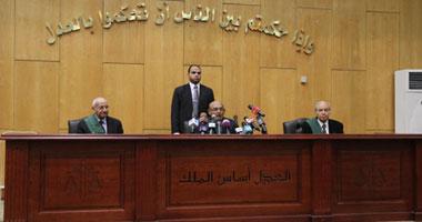 """اليوم.. النطق على 4 متهمين فى """"أحداث محمد محمود"""""""