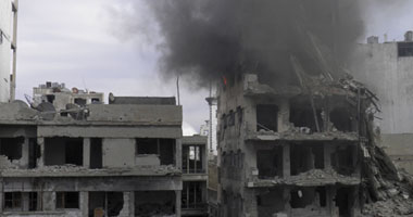 """مقتل 15 شخصًا فى قصف بالبراميل المتفجرة على """"الباب"""" بحلب"""
