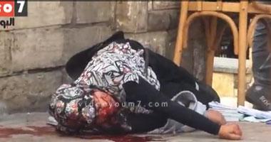 بالفيديو.. إنقاذ طالبة الأزهر المصابة بطلقات فى الرأس