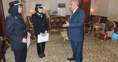 مدير أمن الشرقية يكرم ضابطتين لجهودهما وإخلاصهما فى العمل