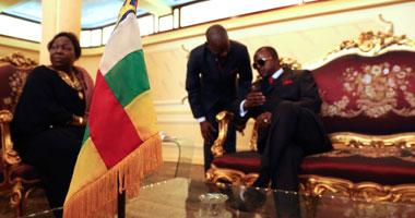 الرئيس الانتقالى فى أفريقيا الوسطى يدعو النازحين للعودة إلى بانجى