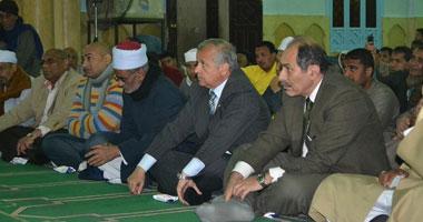 محافظ الأقصر يشهد الاحتفال السنوى بالمولد النبوى الشريف