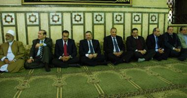 محافظ الغربية فى احتفالات المولد النبوى بمسجد العارف بالله السيد البدوى