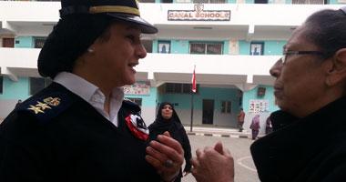الشرطة النسائية تشارك تأمين انتخابات