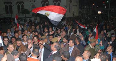 احتفالات أسيوط بثورة 25