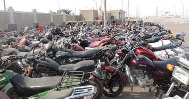 ضبط عصابة تسرق الدراجات النارية بسوهاج