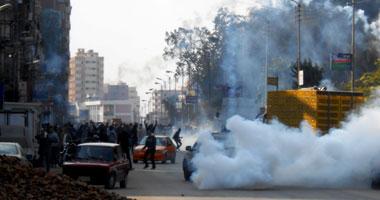 """قوات الأمن تفرق مظاهرات """"الإخوان"""" بالمنيا بإطلاق قنابل الغاز S120143172143"""