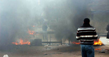 إصابة ضابط ومجند بحروق أثناء اشتباكات المدينة الجامعية للأزهر